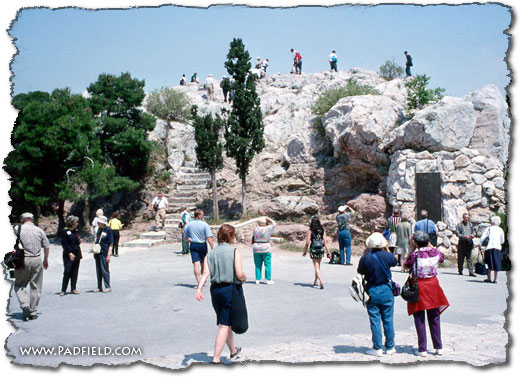 Areopagus Athens, Greece